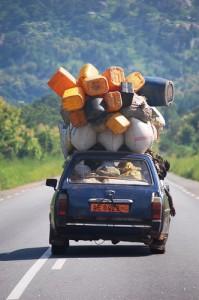 Taxi brousse au Bénin