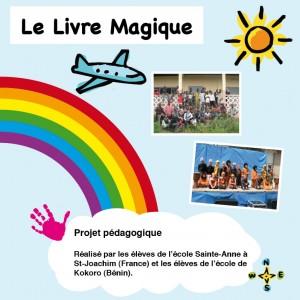 """Le """"livre magique"""" édité par Ophélie de l'équipe de juillet 2009"""