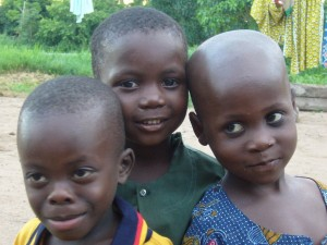 3 enfants de Kokoro